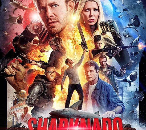 Movie Poster Sharknado 4