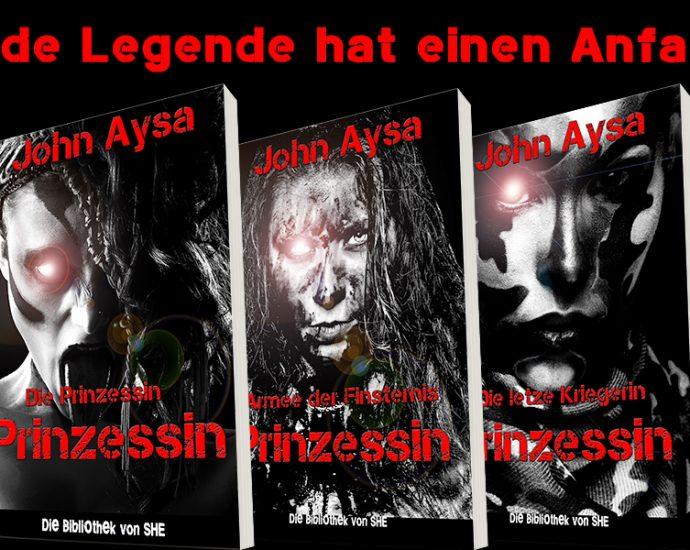 Cover: John Aysa: Prinzessin-Trilogie