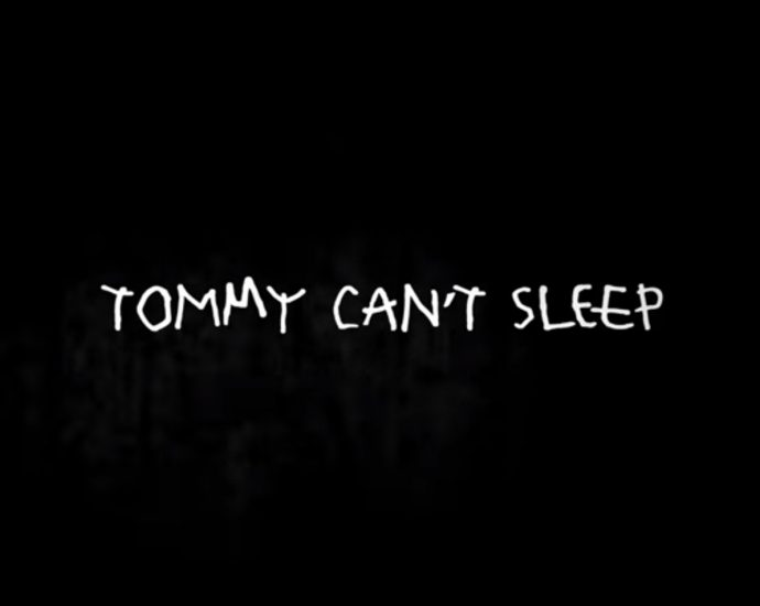 Screenshot: Tommy Cant Sleep