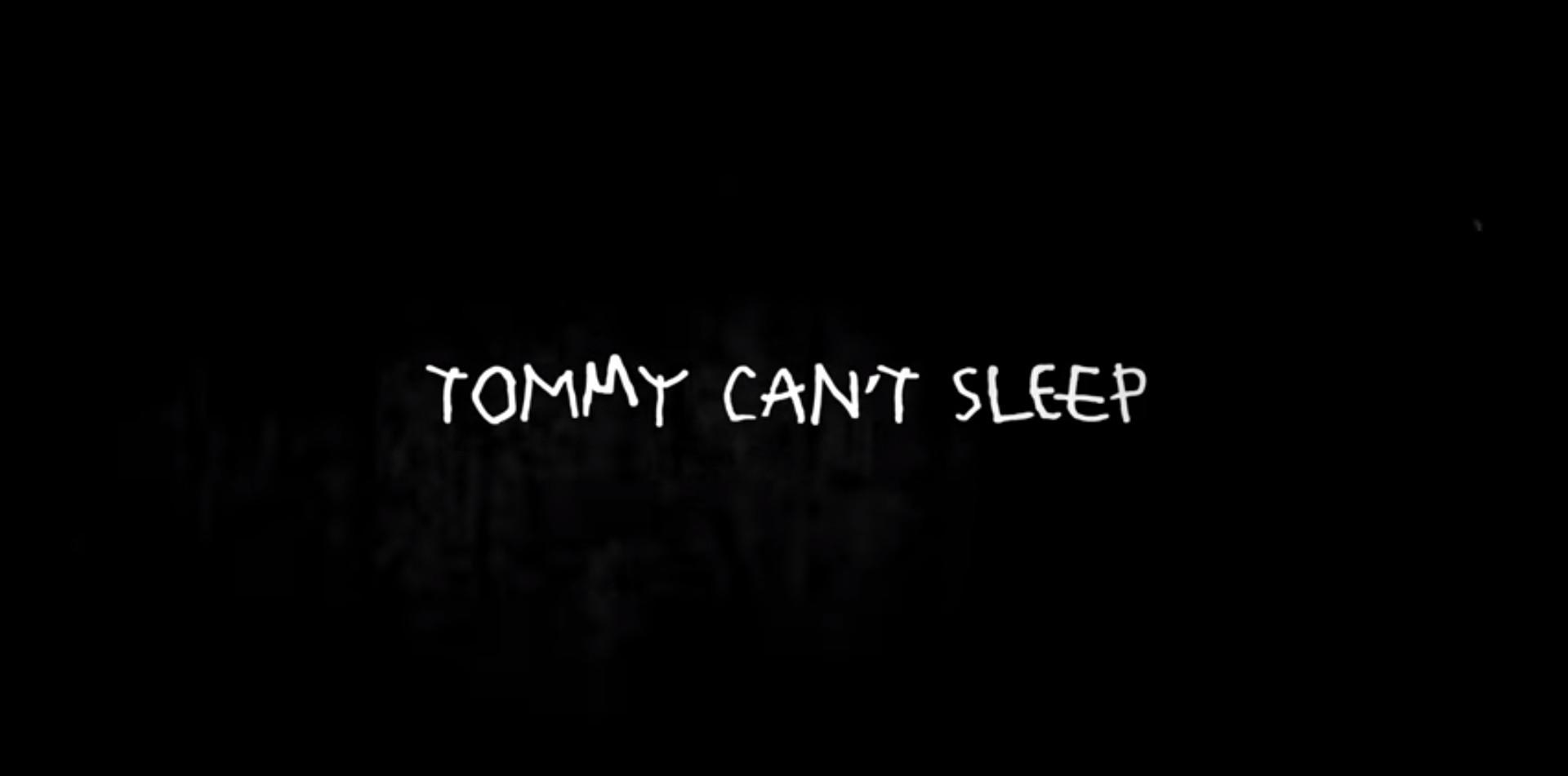 [KURZFILM]: Tommy Cant Sleep (Yolandi Visser)