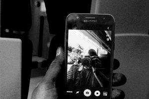 Foto: John Aysa: Selfie