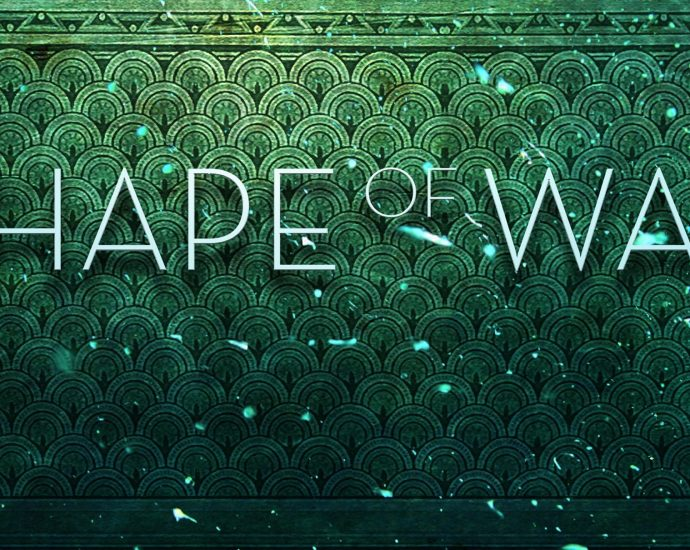 Movie Poster: The Shape of Water