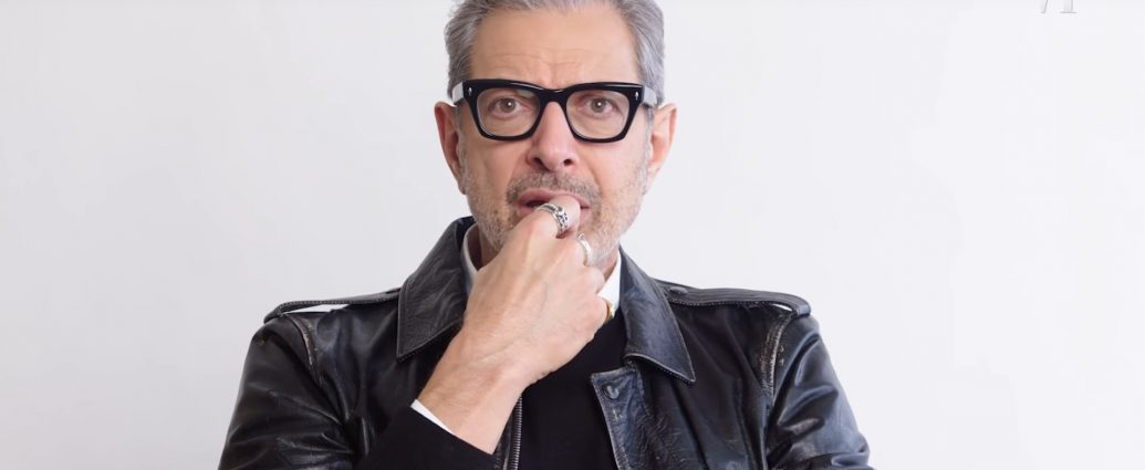 Screenshot: Jeff Goldblum - Vanity Fair Karriere-Überblick