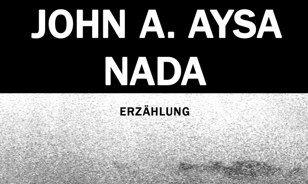 Ausschnitt Cover John Aysa: Nada