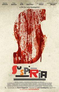 Filmposter: Suspiria (Remake)