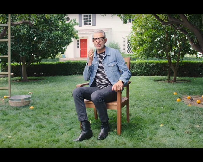 Screenshot: Cooking with Jeff Goldblum