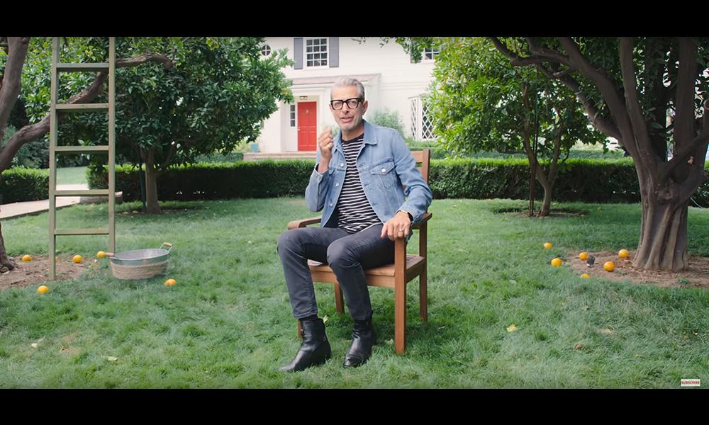 Screenshot: Cooking with Jeff Goldblum