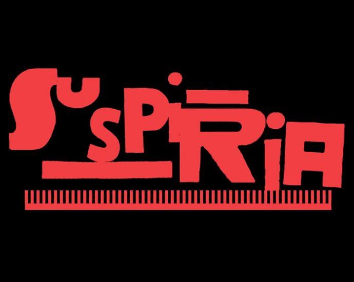 Screenshot: Titelschrift Suspiria