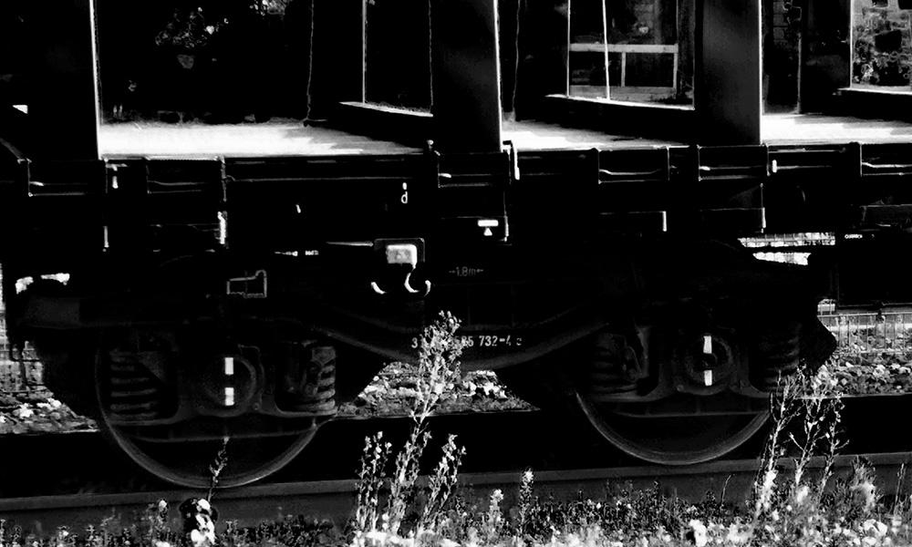 Eigenes Foto: Eisenbahn-Waggon