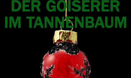 Ausschnitt Cover: John Aysa: Der Goiserer im Tannenbaum