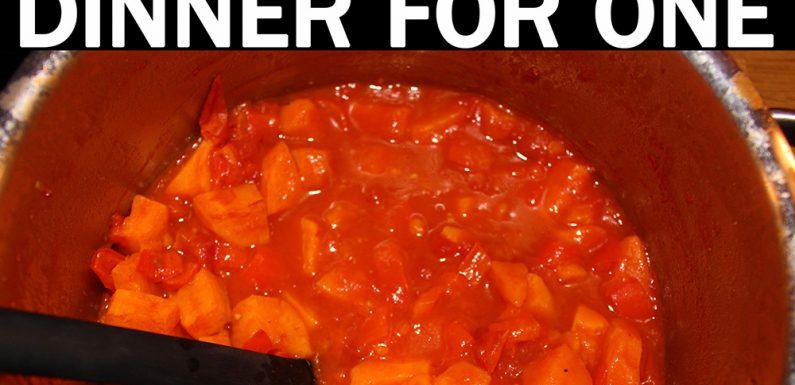 [KOMPLETTE STORY]: Dinner for One