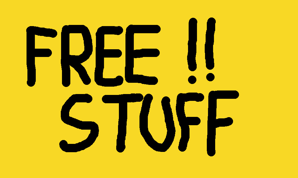 Header: Free Stuff Logo