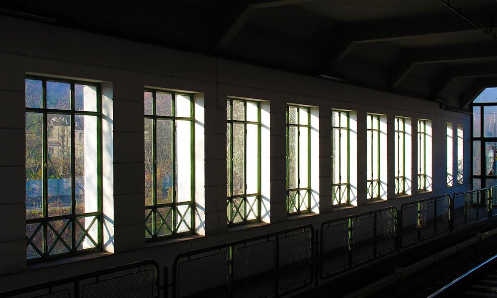 Ausschnitt eigenes Foto: U4 Station Hütteldorf