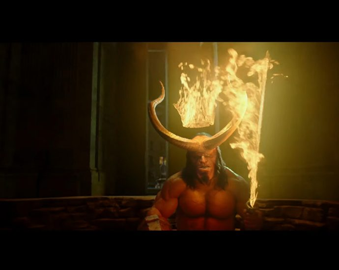 Screenshot Hellboy 2019 - Trailer 1