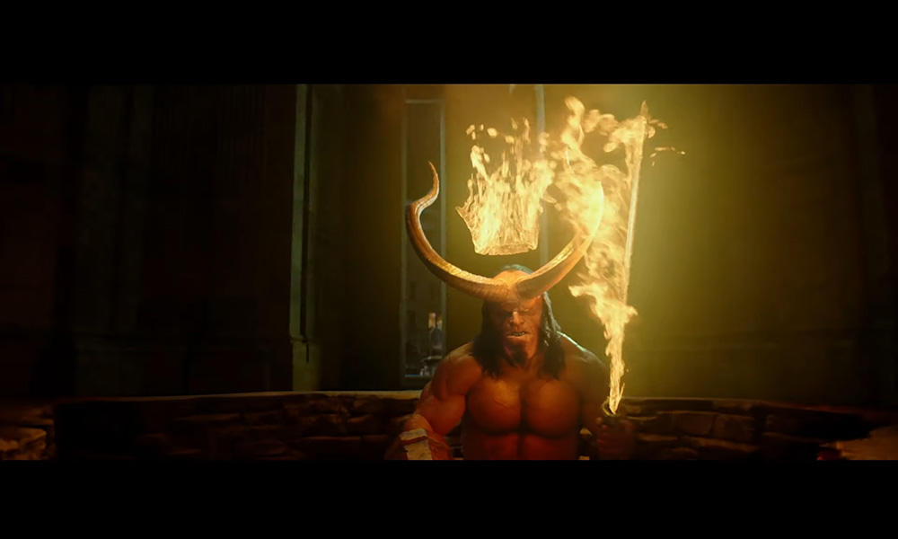 Screenshot Hellboy 2019 - Trailer 1