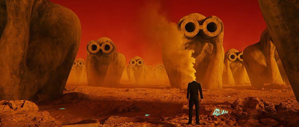 Screenshot: Jean Michel Jarre: Robots don't cry