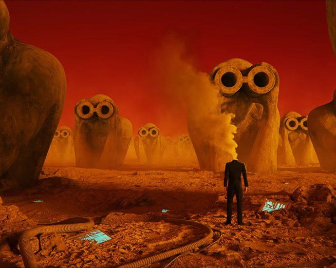 Screenshot: Jean Michel Jarre: Robots don't cry