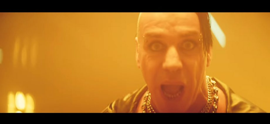 Screenshot: Till Lindemann: Mathematik
