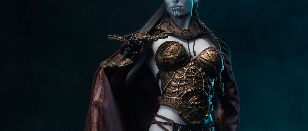 Sideshow-Figur: Kier - Valkyrie of the Dead