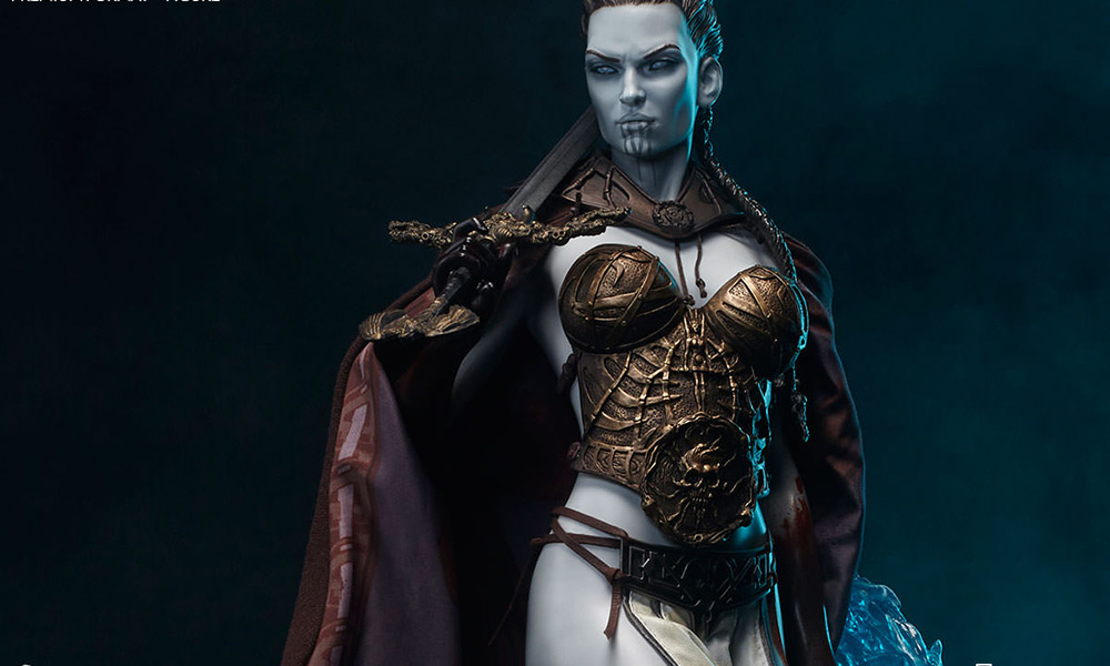 Sideshow-Figur: Kier - Valkyrie of the Dead
