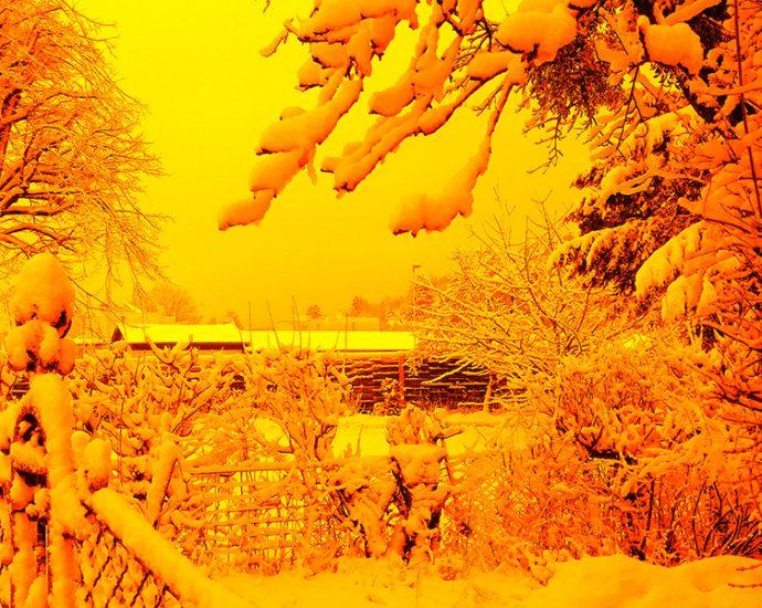 Eigenes Foto: Schneewetter