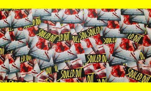 Ausschnitt eigenes Foto: Autogrammkarten Souled Out