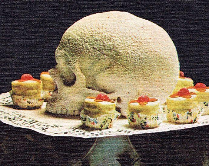Header: Alden Norton: Ein Totenschädel aus Zucker