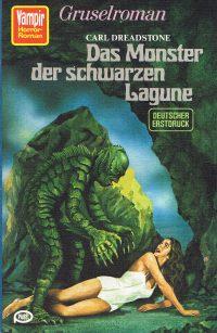 Cover: Das Monster der schwarzen Lagune