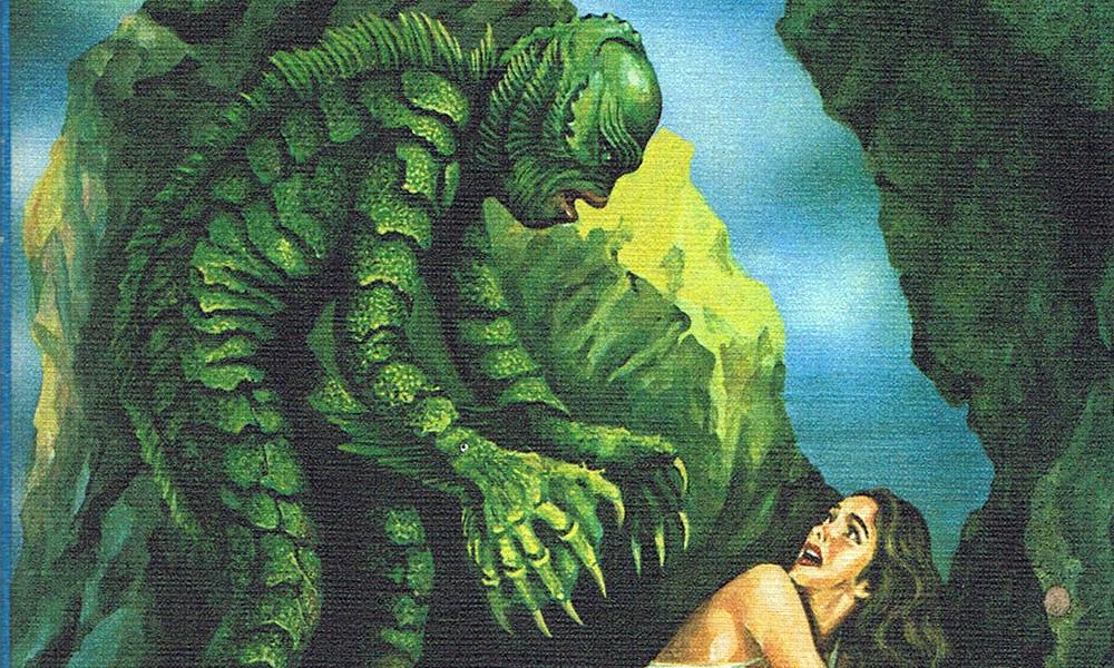 Header: Das Monster der schwarzen Lagune