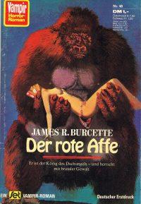 Cover: James Burcette: Der rote Affe
