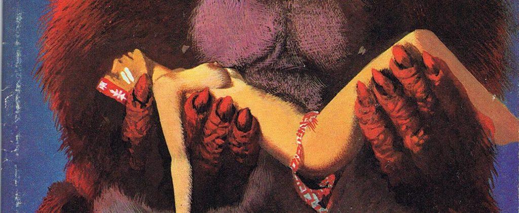 Ausschnitt Cover: James Burcette: Der rote Affe