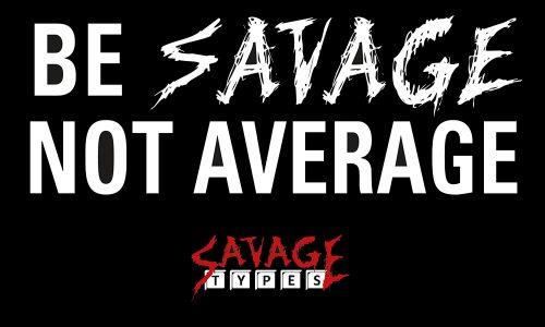 Logo Savage Types