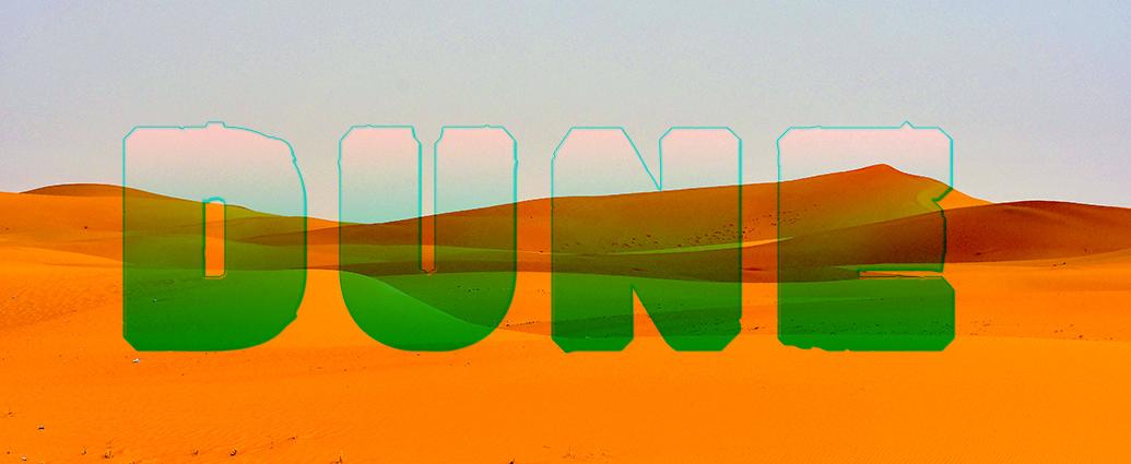 Header: Fiktives Logo, Dune