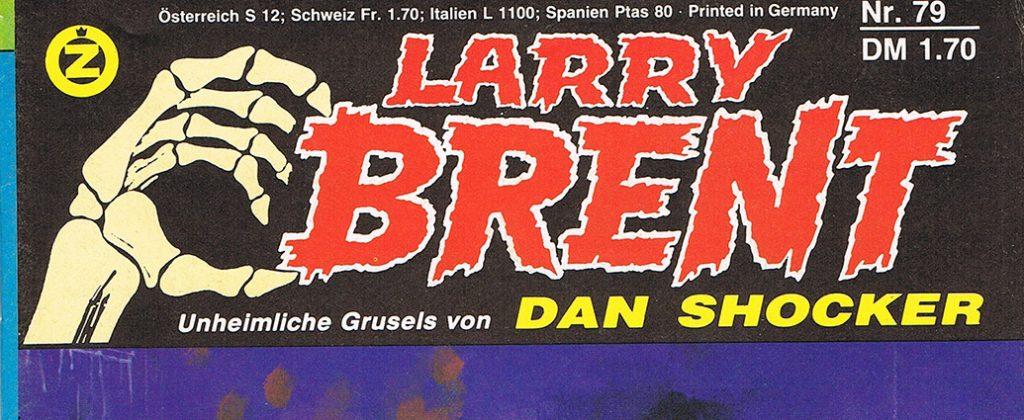 Ausschnitt Cover: Larry Brent Bd. 79