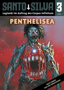 Cover: Jamie Eckhart: Santo Silva Bd. 3 - Penthelisea