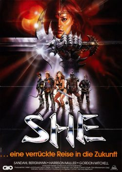 SHE: Movie Poster, 1984