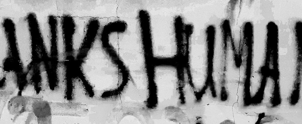 Eigenes Foto: Spraytext Humanity
