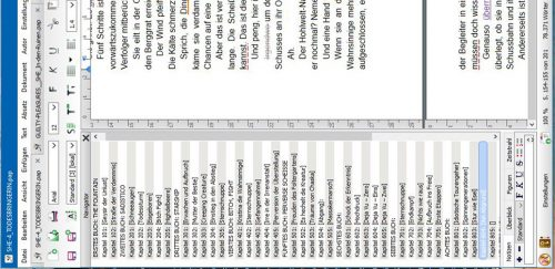 Screenshot: Papyrus Autor - She, work in progress