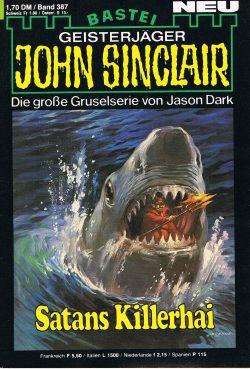 John Sinclair Romanheft 387 - Satans Killerhai