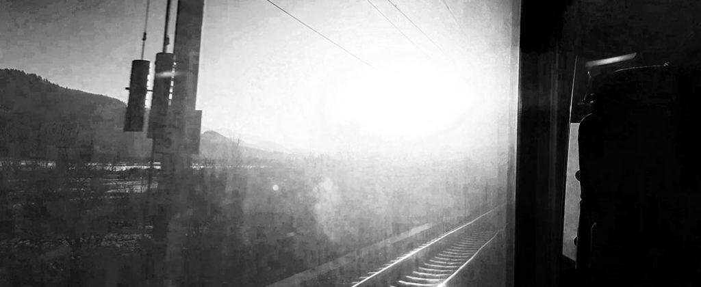 Eigenes Video: Zugfahrt in die Hoelle