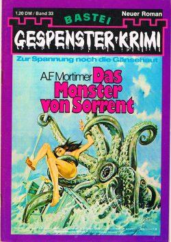 Cover: Gespenster Krimi 33