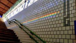 Eigenes Foto: Regenbogenfarbenlichtbrechung
