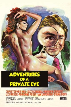 Movie Poster - Adventures of a private Eye