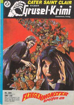 Cover: Silber Grusel Krimi 304: Carter Saint Clair: Fliegenmonster greifen an